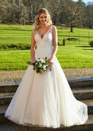 Milan by Romantica available from Caroline Clark Bridal Boutique, Droitwich