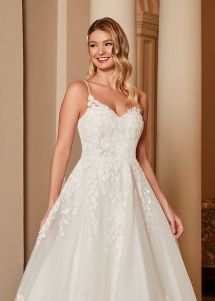 Inga Anne by Romantica available from Caroline Clark Bridal Boutique