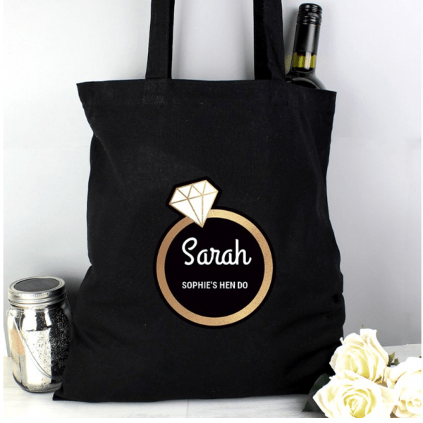 Hen Do Ring Bag Personalised