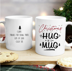 Christmas Hug in a Mug