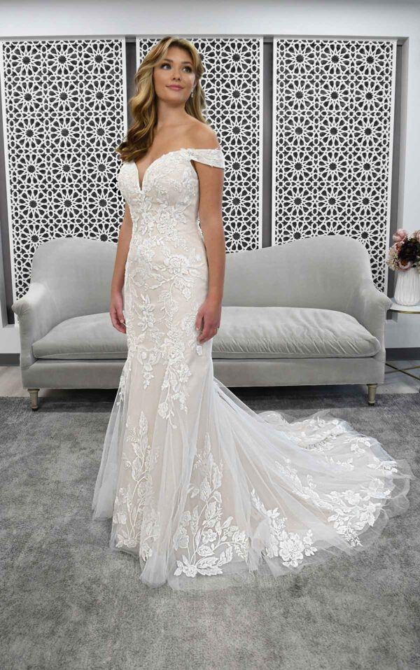 Stella York 7266 available from Caroline Clark Bridal Boutique, Droitwich